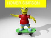 Homer Simpson (Doll Shop)