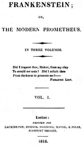 File:Frankenstein 1818 edition title page.jpg
