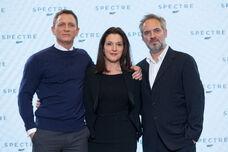 Spectre-press-conference-Craig-Broccoli-Mendes
