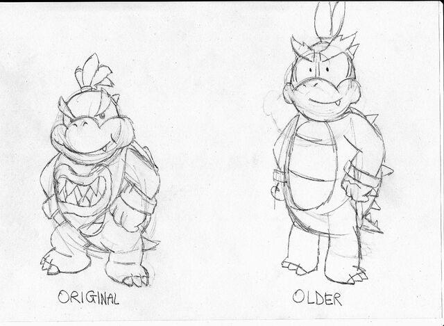 File:Bowser Jr designs.jpg