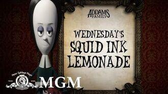 THE ADDAMS FAMILY DIY How To Make Wednesday's Halloween Lemonade MGM