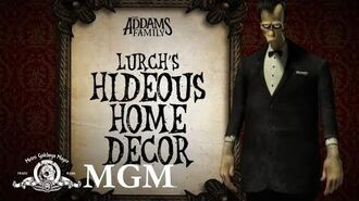 THE ADDAMS FAMILY DIY How To Make Lurch's Spooky Décor MGM