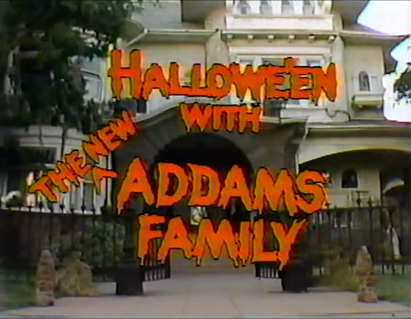 Halloween with the New Addams Family | Addams Family Wiki | FANDOM ...