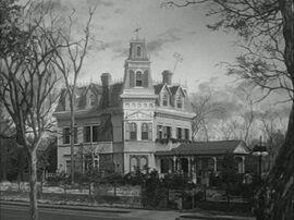 Картина Дом семейки Аддамс