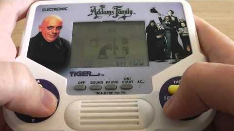 Let's Play Addams Family (Tiger Electronics)