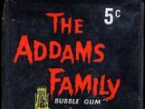 The Addams Family trading cards