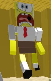 Spongebob roblox ragdoll