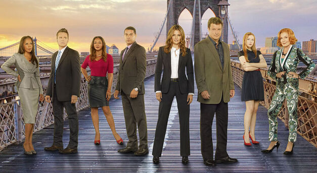 The great ensemble helped to drive the Castle storyline