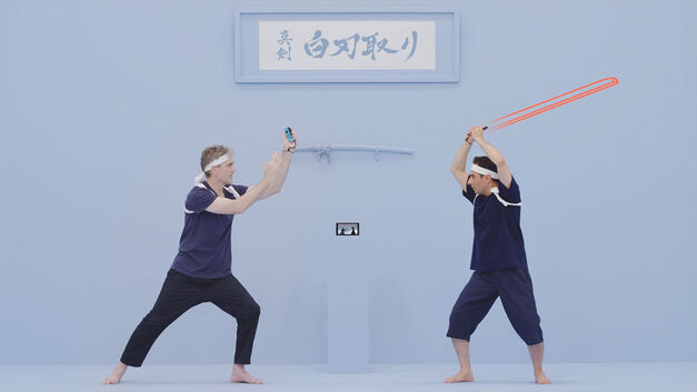 1-2-Switch Samurai Training