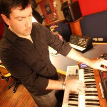 Sean-playing-Synth2