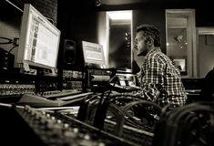 Fraser T Smith in the studio