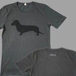Dog dark grey t-shirt
