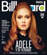 Adele billboard brazil