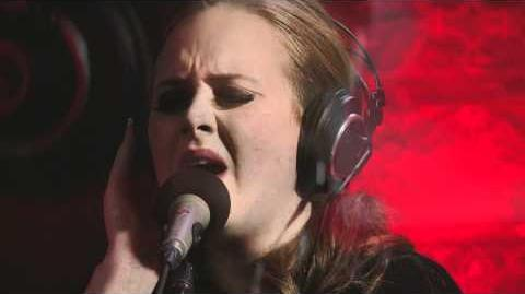 Adele performs 'Turning Tables' on QTV
