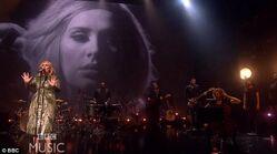 Adele at the BBC Hello 2