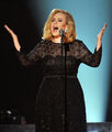 Adele grammys 2012 hands up