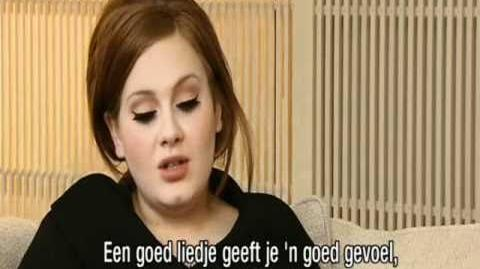 Adele - Ushi Interview (Part 1)