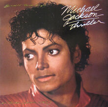 Michael jackson thriller 12 inch single USA