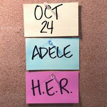 Adele SNL 2020 Announcement