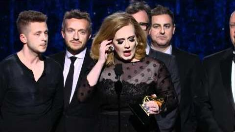 Adele - 54th GRAMMYs on CBS Album of the Year