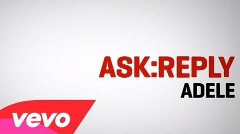 Adele - ASK REPLY