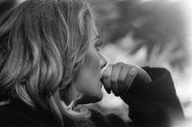 Adele candid