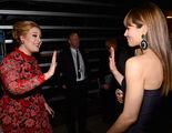 Adele-high-fives-jessica-biel-grammys-2013-gi
