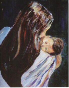 Mother-and-child-gladiola-sotomayor