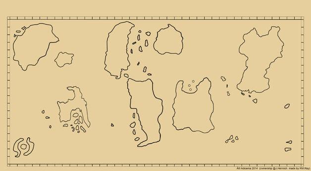 Lands of adicenia