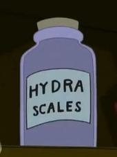 Hydra scales