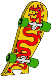 JakeLong skateboard
