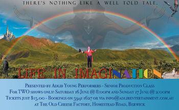 ImagiNation 2012 flyer for FB