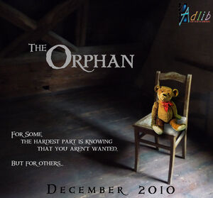 Orphan Poster Teddy sad