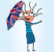 UK Umbrella - Illustartion by Alexander Taylor