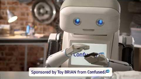 BRIAN the Robot suspects his identity is being stolen – Confused.com