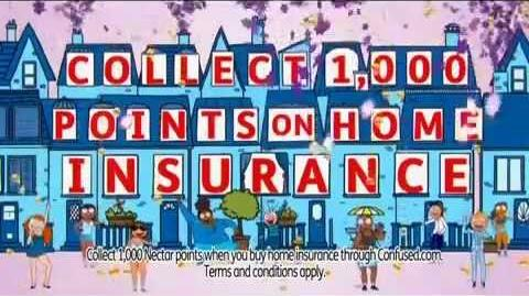 Confused.com - Home Insurance Nectar Points (2011, UK)