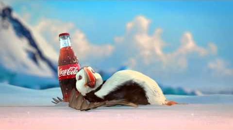Coca-Cola 2013 Holiday Commercial Puffin