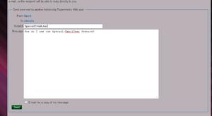 Special EmailUser