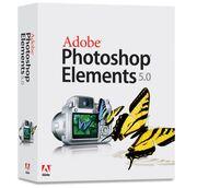 Adobe Photoshop Elements 5 box