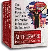 Macromedia Authorware Interactive Studio box
