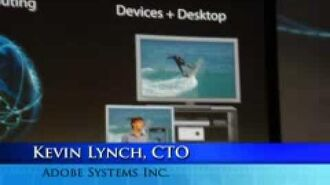 Adobe Max 2008 with Kevin Lynch, CTO Adobe
