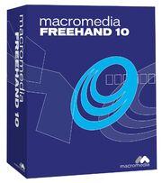 Macromedia FreeHand 10 box