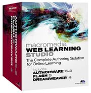 Macromedia Web Learning Studio box