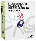 Macromedia Flash 5 FreeHand 10 box