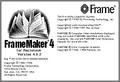 FrameMaker 4 Mac about screen