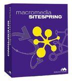 Macromedia Sitespring box