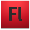 Adobe Flash CS4 icon+shadow