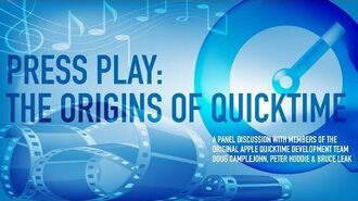 CHM Live Press Play The Origins of QuickTime