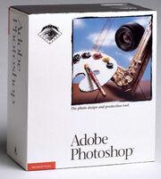 Adobe Photoshop 1 box