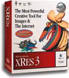 Macromedia xRes 3 box